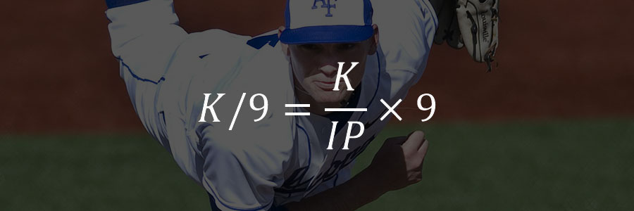 K/9 – 9이닝당 삼진 개수 (Strikeout Per 9 Innings Pitched)