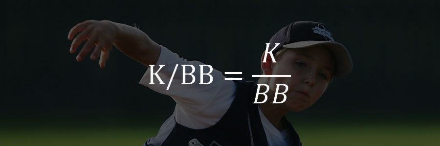 K/BB – 삼진 대 볼넷 비율 (Strikeout Per Base On Balls)